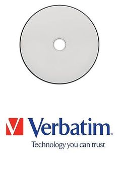 CD DVD and Blu-ray Discs: Verbatim Datalifeplus - 25 X Bd-R Dl - 50 Gb 6X - White - Ink Jet Printable Surf -> BUY IT NOW ONLY: $79.97 on eBay!