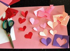 Bouquet of Hearts Card for Valentine's Day | Make and Takes