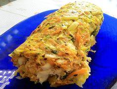 Veja como fazer um delicioso rocambole de legumes, receita suculenta, praticamente um rocambole detox. Eu amei!! Receita de Rocambole de Legumes