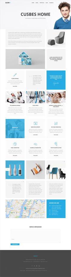 Mirror - Minimal Portfolio WordPress Theme - expeditor resume