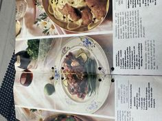 Ratatouille, Bbq Lamb, Green Beans