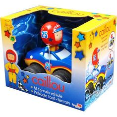 Caillou All Terrain Vehicle, Yellow