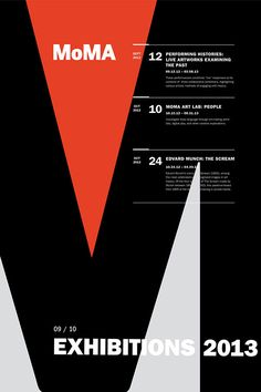 MoMA Exhibit Poster Series - Rebecca Nolte #poster