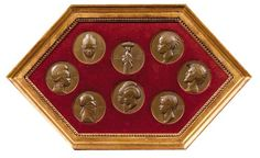 8 medals of French West Africa by Emile Monier, 1931