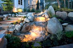 backyard waterfalls - Google Search