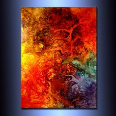 Abstracto arte, pintura abstracta enorme, Resumen Original pintura, arte moderno contemporáneo, arte colorido de la lona  X 36 DE TAMAÑO: 48 X 1,58   (ACABADO DE ALTO BRILLO)  TÍTULO: BELLEZA DEL ALMA  Esta pintura moderna abstracta contemporánea fue pintada sobre lienzo libre ácido Galería envuelta. Se han utilizado sólo los materiales de arte fino de la calidad. los bordes son libre de grapas y pintado de negro. No necesita marco. Listo para colgar. Capa final de barniz fino arte se aplicó…