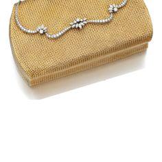 Diamond evening bag, 1960s  Estimate    5,000—8,000    GBP    LOT SOLD.11,250 GBP   ||| sotheby's l17051lot9dyqpen