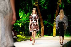 See atmosphere photos from the Dolce & Gabbana Spring 2017 Ready-to-Wear fashion show.