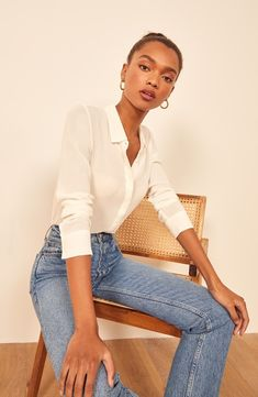 There's a massive Reformation sale at Nordstrom (think dresses, jumpsuits, and tops). We picked the 11 pieces you'll want to buy immediately—all at off. Campaign Fashion, Minimal Outfit, Ootd, Europe Fashion, Minimalist Fashion, Minimalist Wardrobe, Cute Casual Outfits, Ethical Fashion, Personal Style