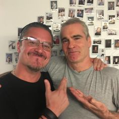 Mike Patton and Henry Rollins
