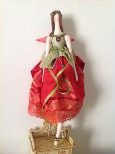 fatina papavero  poppy fairy by norinabaroncelli on Etsy, €18.00