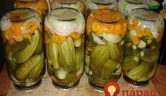 Znojemské uhorky bez varenia nálevu: Vlani sme na skúšku spravili len 2 poháre, tento rok už iné nerobím! Sauerkraut, Apple Jam, Russian Recipes, Kefir, What To Cook, Vegetable Recipes, Pickles, Cucumber, Zucchini