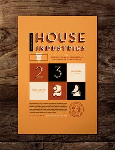 J Fletcher Design – Graphic Design & Art Direction – Charleston, SC » House Industries