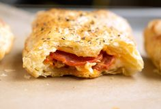 {Pepperoni Pizza Hot Pockets Recipe} How to Make Homemade Hot Pockets With Frozen Pillsbury Puff Pastry