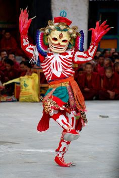 Traditional dancing at festival in Shigatse, Tibet | Flickr - Photo Sharing!