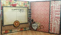 Monkeydreamz: Tales of a Paper Addict: 6x6 World Traveler Mini-album