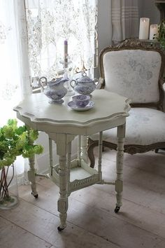 A Quaint Spot for Tea~❥