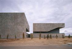 Nieto Sobejano - Merida auditorium and conference center, Merida 2004