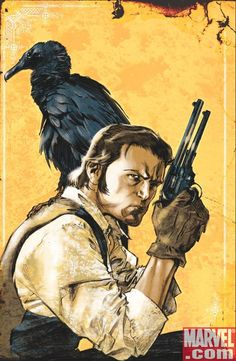 Roland Deschain (variant cover to The Dark Tower: The Gunslinger Born #2)