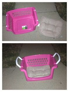 Made a cute kids chair a kids storage bin and a not slip cushion it's lightweight and stackable and portable