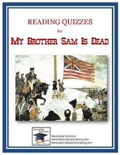 an examination of my brother sam is dead by james lincoln collier and christopher collier My brother sam is dead by: james lincoln collier & christopher collier tim meeker looks up to sam meeker he wants to be as brave as his brother, sam.