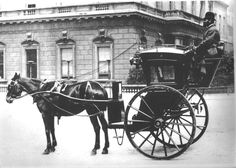 Hansom Cab London 1910