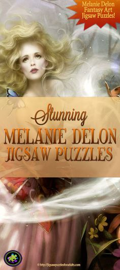 You'll Love these Melanie Delon Jigsaw Puzzles! If you like fantasy and gothic images these Heye puzzles from the artwork of Melanie Delon are amazing. Difficult Jigsaw Puzzles, Gothic Images, Hobbies For Couples, Canadian Winter, Puzzle Art, Famous Artists, Illustration, Hobby Ideas, Entertaining