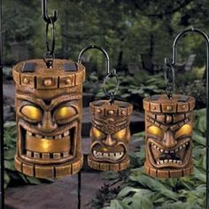 Solar Tiki Path Lights - Set of 3 review | buy, shop with friends, sale | Kaboodle
