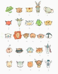 Animals All Around - adorable animal alphabet