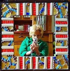 Mirror by Cristina-Mary Buzamet Mixed Media, Mary, Wall Art, Mirror, Mirrors, Mixed Media Art, Wall Decor