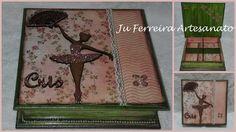 Porta jóias Bailarina com 4 divisões