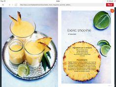 Exotic smoothie
