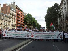 9/08/14 Today Paris for #Gaza #BoycottIsrael