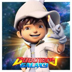 Anime Galaxy, Boboiboy Galaxy, Cute Boys Images, Boy Images, Cartoon Movies, Cartoon Characters, Fictional Characters, Boboiboy Anime, Elemental Powers