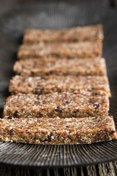 Homemade Chocolate Chip Cookie Dough Larabars | vegan gluten free | oh she glows