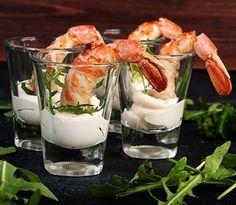 Rezept: Garnelen mit Currymayonnaise, eine ganz raffinierte Vorspeise