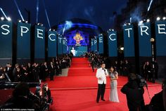 Other than Bond cast, Kate Middleton and Prince William also joined the World premiere of the latest James Bond film. The glamorous Royal Albert Hall has chosen third time for the screening of 007 movie following Die Another Day and Skyfall.