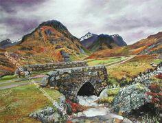West Highlandway in Scotland