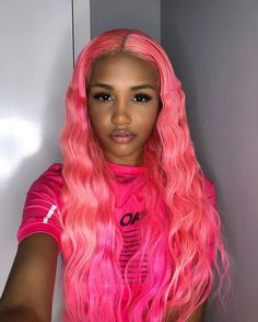 """USE COUPON CODE: """"MOMROCKS"""" for 35% OFF ON ALL INDIAN,BURMESE & CAMBODIAN HAIR EXTENSIONS!! . . MOTHERS DAY SALE EVENT – 25% – 75% OFF!! PLUS HAIR FINANCING UP TO TWO MONTHS AVAILABLE HERE!!💸💸. Questions? Talk to us!!🔥🔥 . . Shop here 📌 dynastygoddess.com Lace Front Wigs, Lace Wigs, Vibrant Hair Colors, Light Pink Shorts, Pastel Pink Hair, Deep Curly, Lace Hair, Aesthetic Hair, Fashion Moda"""