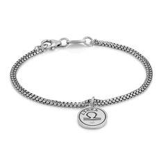 Sterling silver bracelet with Swarovski Zirconia Zodiaco Collection
