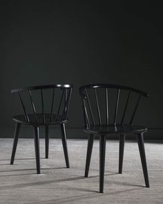 Update your seating with this splendid Safavieh Blanchard side chair set. Black Dining Chairs, Dining Chair Set, Dining Room Chairs, Side Chairs, Office Chairs, Dining Tables, Dining Area, Spindle Chair, Plastic Adirondack Chairs