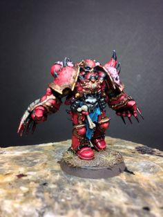 Chaos Space Marine painted by Sting 925CONCEPTS.COM
