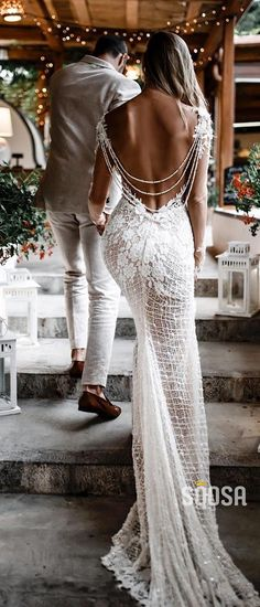 24 unforgettable wedding dresses on the beach Wedding Dress Guide - Unforgettable . - 24 unforgettable wedding dresses on the beach Wedding Dress Guide – Unforgettable Wedding Dresses on the Beach ★ dress dress – Boho Wedding Dress With Sleeves, Backless Mermaid Wedding Dresses, Cheap Bridal Dresses, Sexy Wedding Dresses, Mermaid Dresses, Beach Dresses, Bridal Gowns, Dress Lace, Destination Wedding Dresses