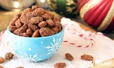 Crockpot Cinnamon Roasted Almonds are crunchy cinnamon glazed almonds that are perfectly roasted right in your slow cooker. Candied nuts make for the perfect homemade holiday gift. Cinnamon Roasted Almonds, Candied Nuts, Almond Recipes, Dog Food Recipes, Crockpot, Sweet Treats, Easy Meals, Appetizers, Homemade