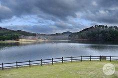 OITA NO KEMURI: Lac Shidakako #beppu #oita #kyushu #landscape #japan