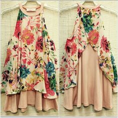 COMING SOON! PEACH FLORAL PRINT SLEEVELESS TOP Chic 2 layer peach color floral print summer top. 94% Rayon 6% Spandex. Made in the USA. Boutique  Tops Blouses