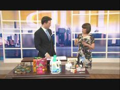 Buy Canadian First on CTV's Canada AM: Eco-friendly products Made in Canada - April 2012 Eco Friendly, Canada, Tv, How To Make, Stuff To Buy, Products, Tvs, Beauty Products, Television Set