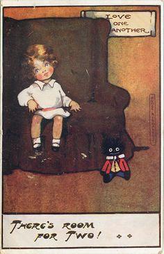 vintage Agnes Richardson postcard