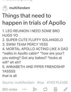 yes trials of Apollo /// there were some bro punches and maybe the last one next book