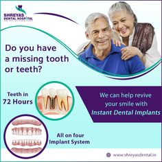 Boost your Smile Confidence in less than 3 Days with Instant Dental Implants  #InstantDentalImplants #DentalImplantsNearMe #Ahmedabad